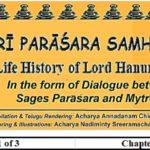 ŚRĪ PARĀŚARA SAMHITĀ –Story of Suvarchalāhanumat Dwādaśākşara Mantra –Saptamah Paţalah (7th Chapter)